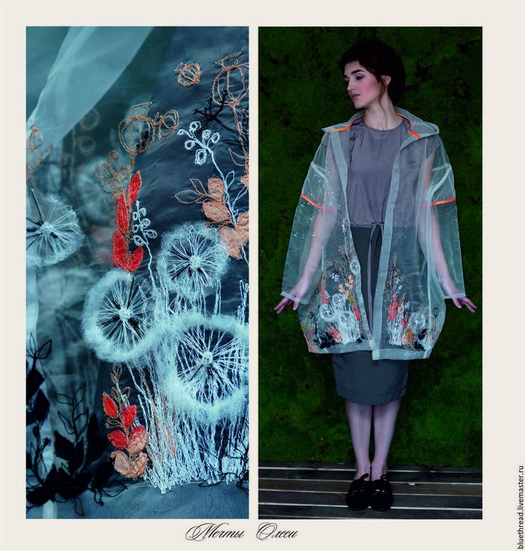 Купить Прозрачное пальто Мечты Олеси - одежда, одежда для женщин, для девушки, праздничная одежда, для фотосессий
