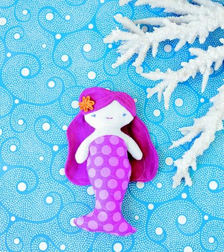 mermaid tutorialDolls Pattern, Free Pattern, Mermaid Parties, Sewing Pattern, Wee Wonder, Parties Favors, Rag Dolls, Mermaid Dolls, Crafts