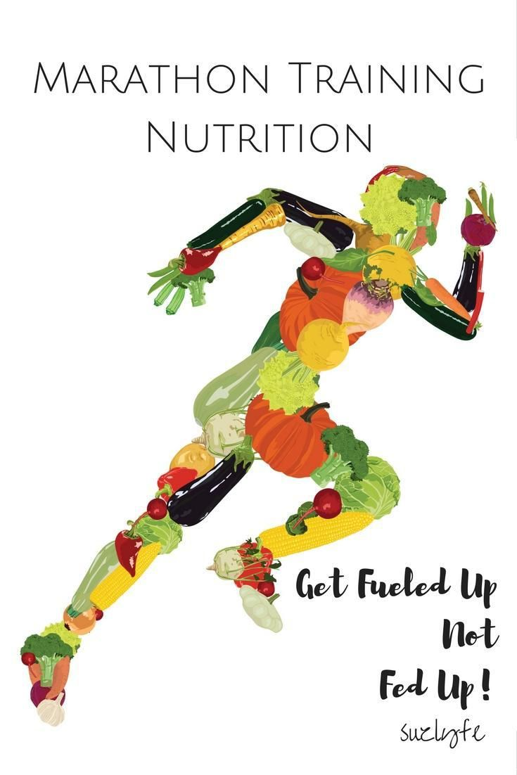 Marathon training nutrition is just as important as your training plan; discover how to fuel up without getting fed up on this week's Running Coaches Corner! @suzlyfe http://suzlyfe.com/marathon-training-nutrition-coaches-corner-67