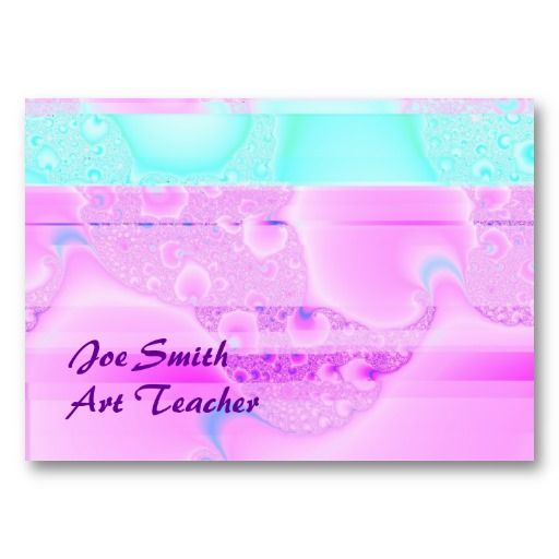 Pink CIty 2 Chubby Business Card Template #businesscards