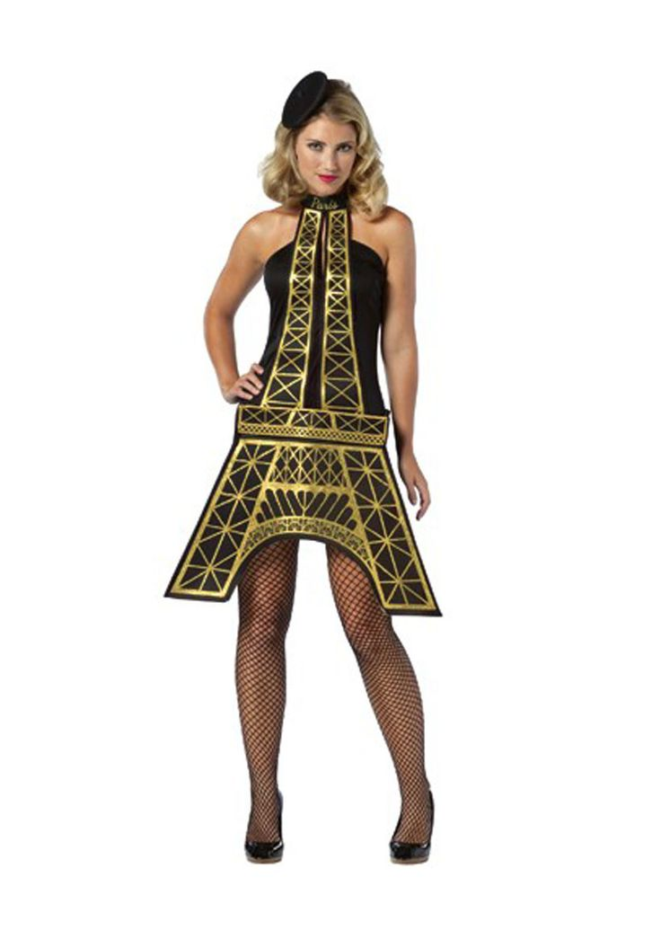 Eiffel Tower Costume, French Fancy Dress - Funny Costumes at Escapade