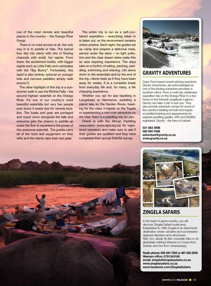 Wildside Magazine - Winter 2015