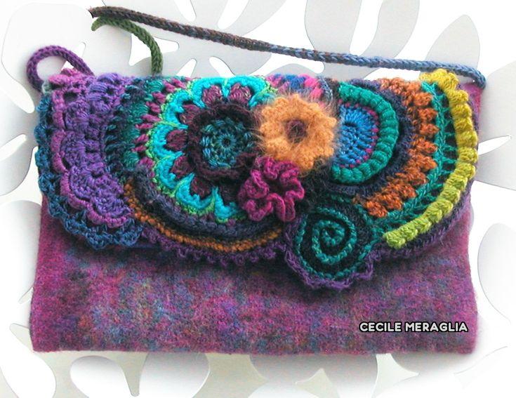 chrome hearts dress pochette free  freeform purse by C  cile Meraglia