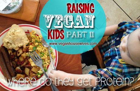 how to make a toddler vegan