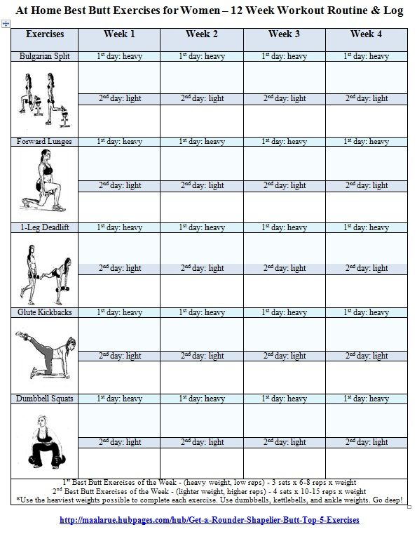 Free Printable Gym Workout Routines | Workout Log for ...