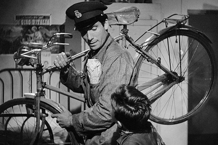 ladron de bicicletas...