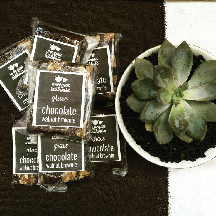 Grace brownie is 100% vegan, gluten free, refined sugar free & delicious!