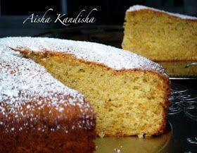 Aisha Kandisha: BIZCOCHO DE CALABAZA (PUMPKIN CAKE)