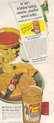 Au secours ! Du beurre d'arachides avec des radis salades et chips !!!