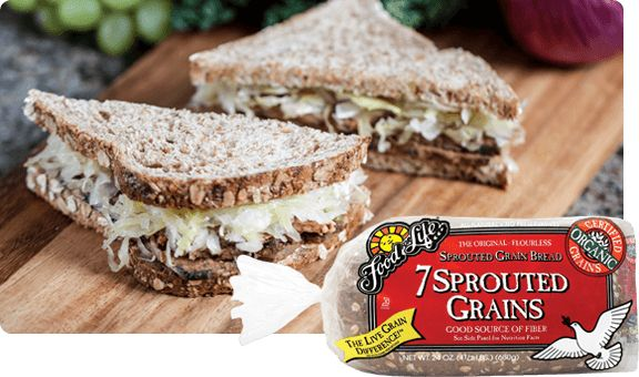 For the ultimate in a tasty, high-protein, high fiber loaf, Food for Life developed the original 7-Sprouted Grains Bread.
