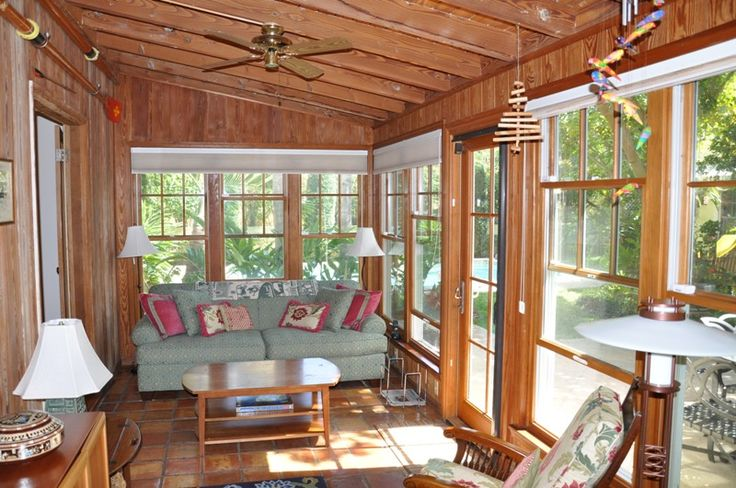 Florida Room Awesome Room Sunroom Pinterest