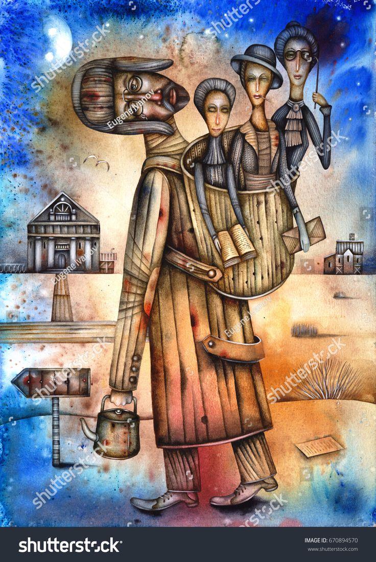 Anton Chekhov - caricature of the Russian writer. 1860 - 1904. By Eugene Ivanov #fyodor #three_sisters #anton #chekhov #eugeneivanov #author #literature #russia #russian #writer #caricature #cartoon #literary_arts #russian_writer #cherry_orchard #modernism #playwright #seagull #uncle_vanya #@eugene_1_ivanov
