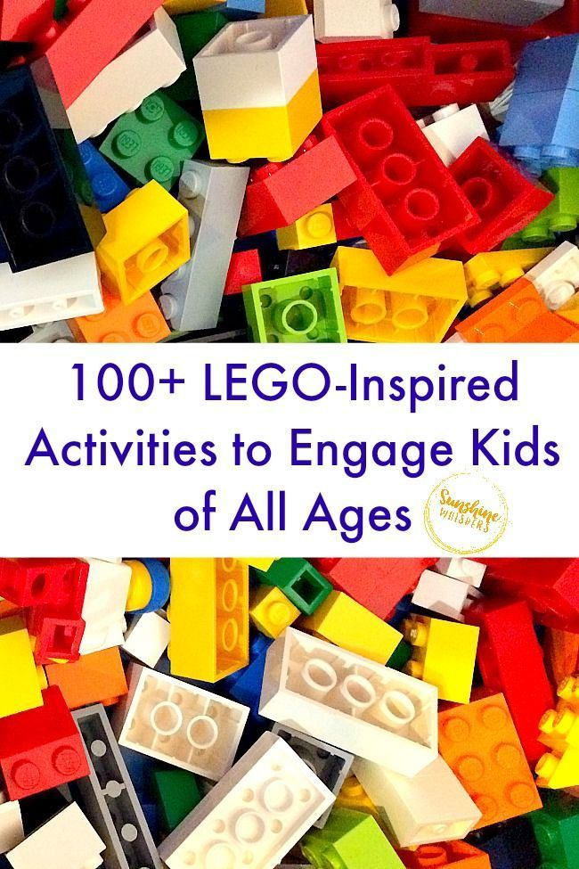 100 LEGO Inspired Activities to Engage Kids of