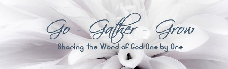 DIG Gals Bible Study: 1 John, Chapter 1 – Go – Gather – Grow