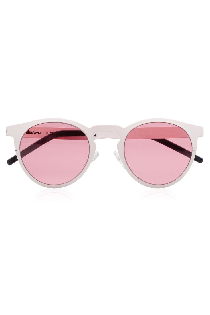 HONEY Lady Vintage Baroque Floral Lunettes de soleil - Summer Glasses - Stereo Rose (Couleur : Jelly pink) z35JxiFtoW