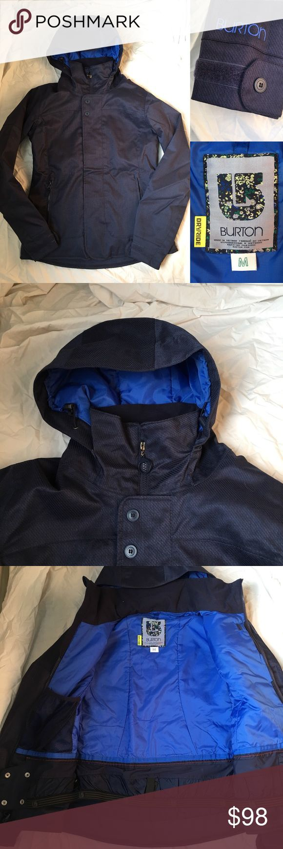 """EUC Burton Ski Snowboard Jacket I am unsure if the exact style name - but it's most similar to the """"Jet Set."""" Perfect like new condition, worn once. Burton Jackets & Coats"""
