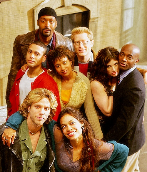 "so much love in this picture! This was actually a good movie.. ""Rent"""