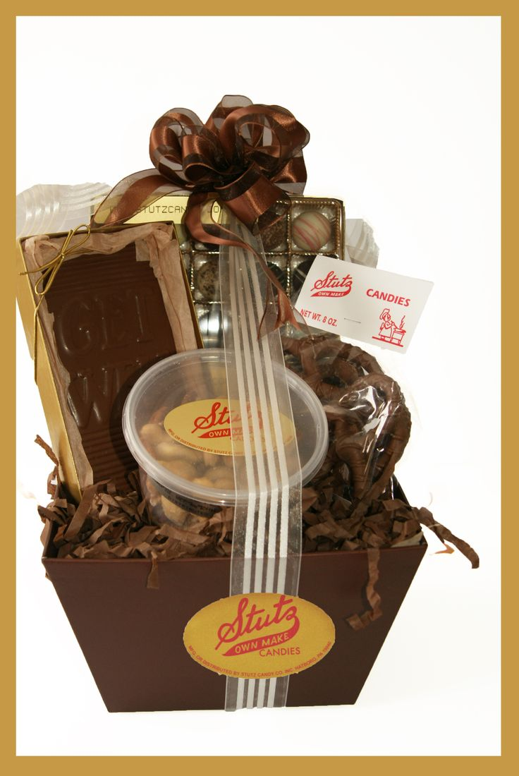 8 best Chocolate Gift Baskets images on Pinterest