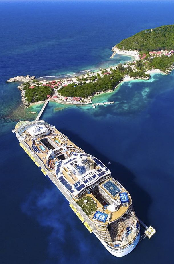 Labadee, Haiti | Experience the magnificence of the Caribbean when you dock in luxurious Labadee, known for its pristine beaches and thrilling excursions like the Dragon's Tail Coaster, featuring stunning views of the island and sea.