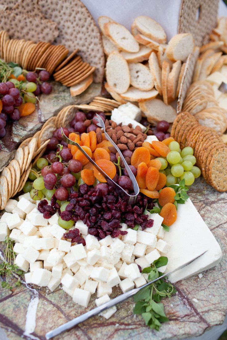 Fruit, Cheese and Nut Station