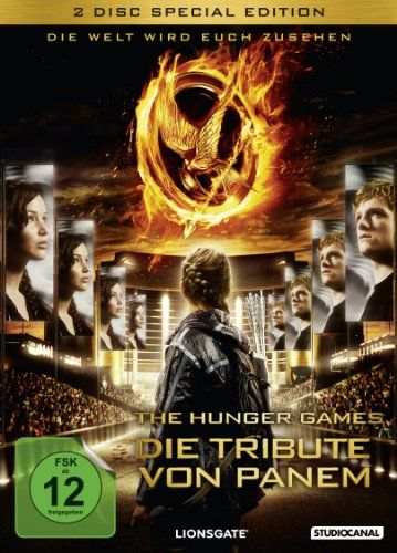 Cover and Title DVD: Germany (Die Tribute von Panem)