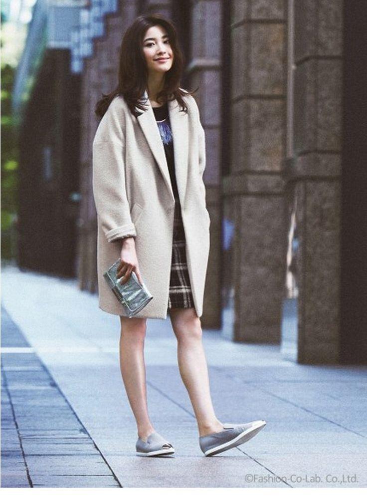 2017 Hot sale Cocoon coat women coat female overcoat female spring autumn slim blend woolen coat woolen outerwear casaco winter
