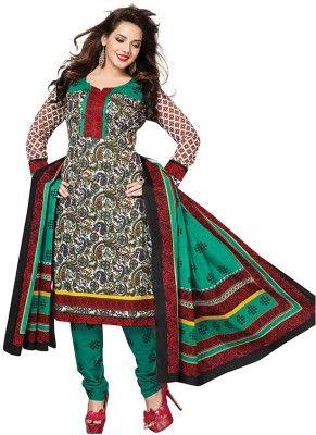 Dertaste Cotton Floral Print Salwar Suit Material Price in India - Buy Dertaste Cotton Floral Print Salwar Suit Material online at Flipkart.com