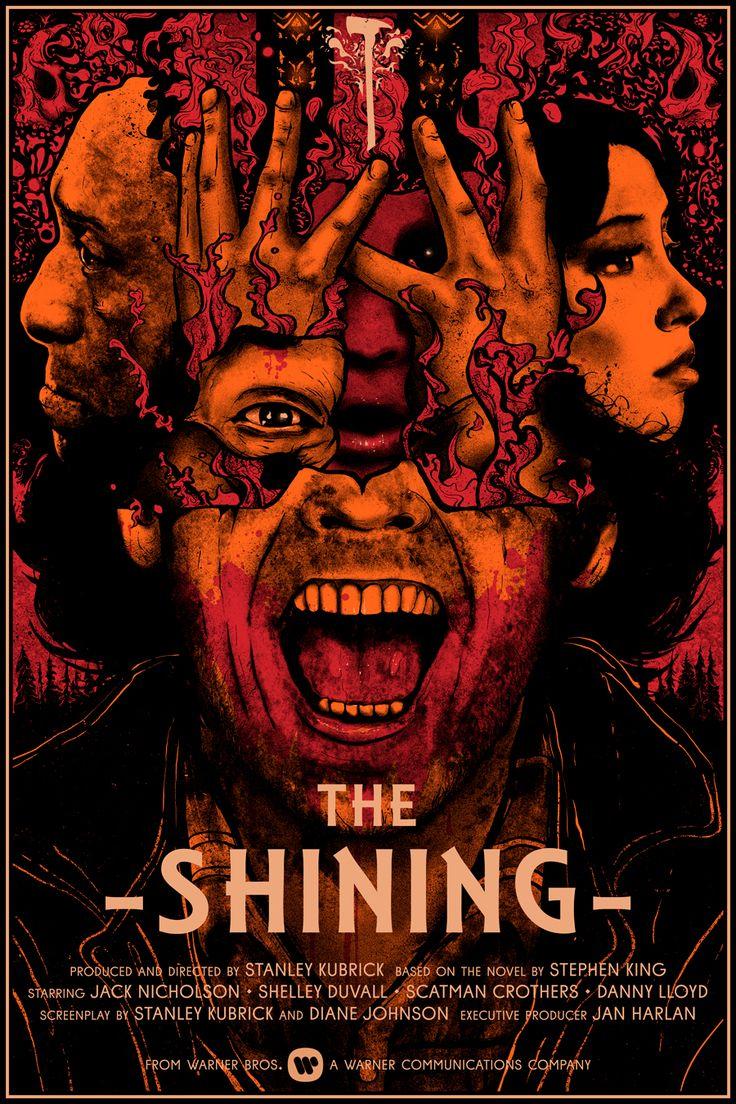 "The Shining Dimensions: 24"" x 36"" Inks: 4 x Colours Medium: Screen Print STORE Nikita Kaun 2016 INSTAGRAM | TUMBLR | FACEBOOK | STORE"