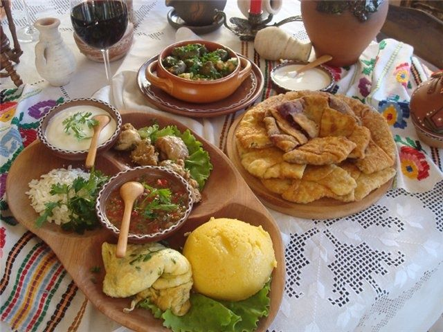 Traditional Moldovan Cuisine
