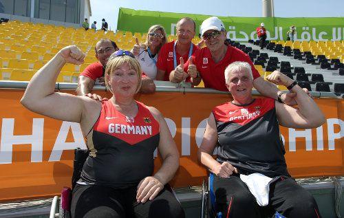 Leichtathletik-WM: Marianne Buggenhagen mit 22. WM-Gold