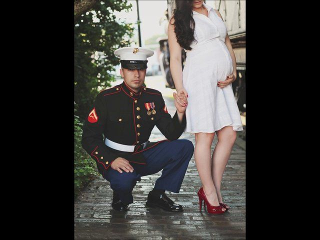 Absolutely Beautiful!!  Adrian and Gina Military Maternity Session HD; Amber Hope photography