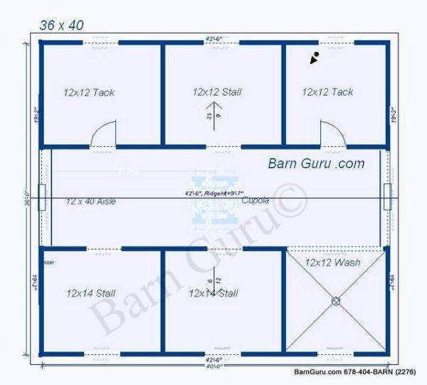 4 stall horse barn plan money pit aka horses for 1 stall horse barn plans