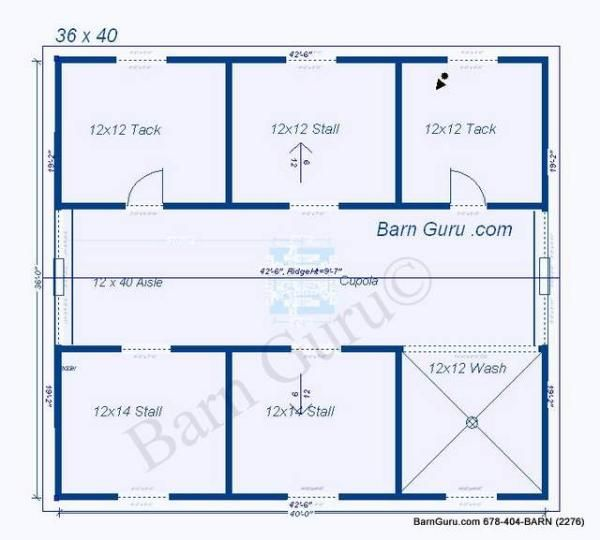 4 stall horse barn plan money pit aka horses