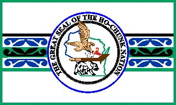 [Ho-Chunk (or Winnebago) - Wisconsin flag]