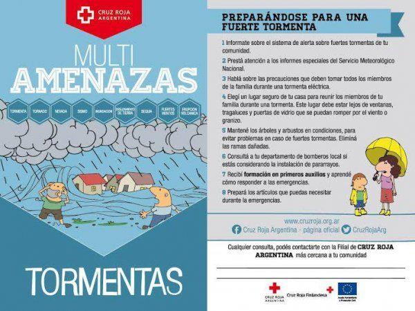 Emiten alerta por fuertes tormentas en Capital y la provincia de Buenos Aires | Clima