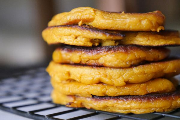 These are easy little pancakes that are good for babies 6 months and up.