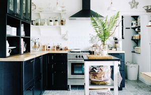 A perfectly ordered kitchen encourages creativity