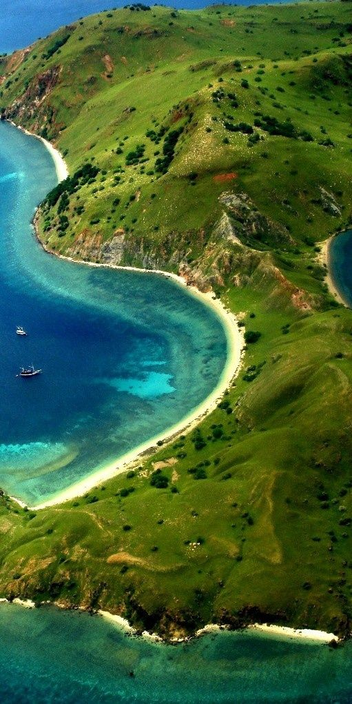 Komodo Island National Park, Indonesia. One of the most incredible places I have ever been!  And the diving is insane!