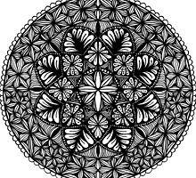 Mandala 8-point floral  by LisaL2