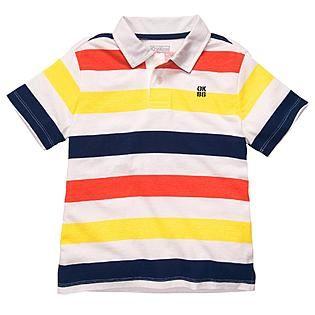 Bright Striped Polo
