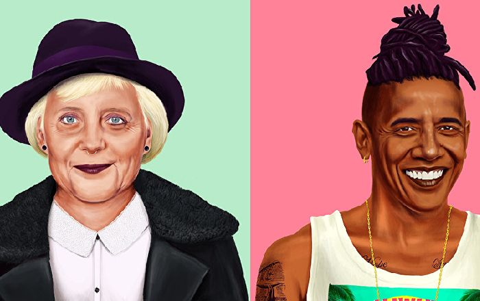 """Hipstory:"" If you thought Angela Merkel couldn't be cool, take a look at this."