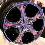 : hot pink rims for sale