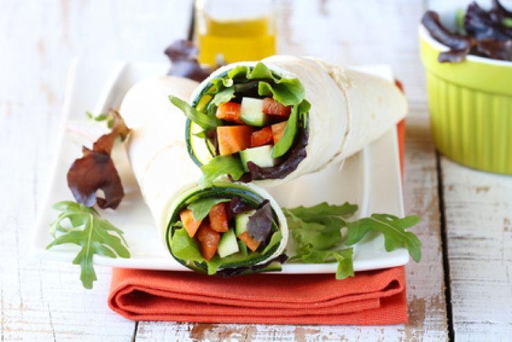 #receta #saludable Rollitos de Verduras