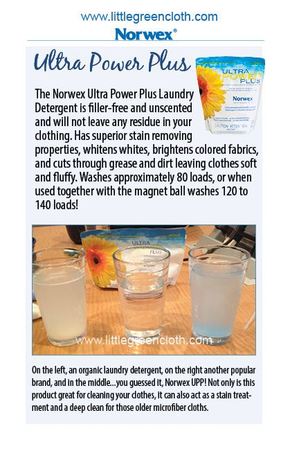 With Norwex, doing Laundry is Quicker, Easier, and Cheaper. www.despatterson.norwex.biz