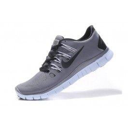 Nike Free 5.0+ Herresko Grå Svart | Nike sko tilbud | billige Nike sko på nett | Nike sko nettbutikk norge | ovostore.com