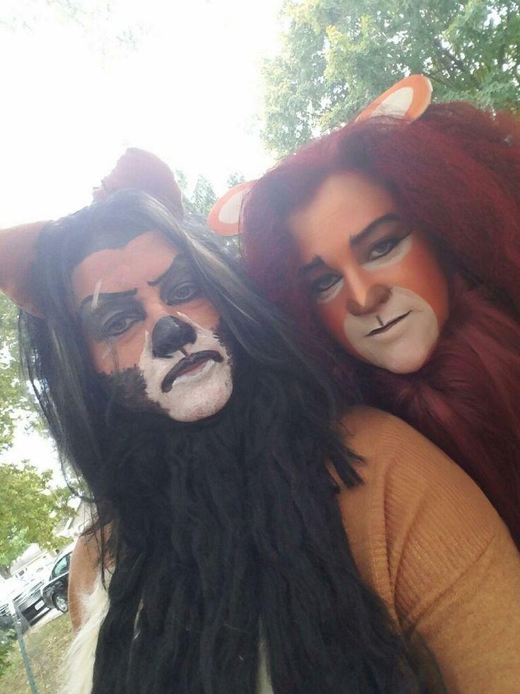 Scar and Mufasa Halloween costume