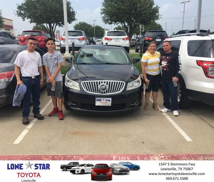 Congratulations Amador on your #Buick #LaCrosse from Chris Richardson at Lone Star Toyota of Lewisville!  https://deliverymaxx.com/DealerReviews.aspx?DealerCode=E208  #LoneStarToyotaofLewisville