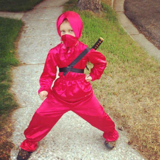 The junior ninja. | 24 Badass Halloween Costumes To Empower Little Girls