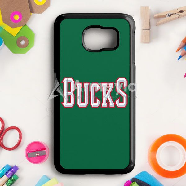 Nba Dc Bucks Logo Head Samsung Galaxy S6 Edge Case | armeyla.com