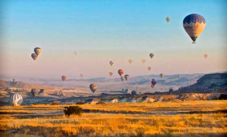 Balloons take to the sky in this beautiful and adventure filled part of the world.
